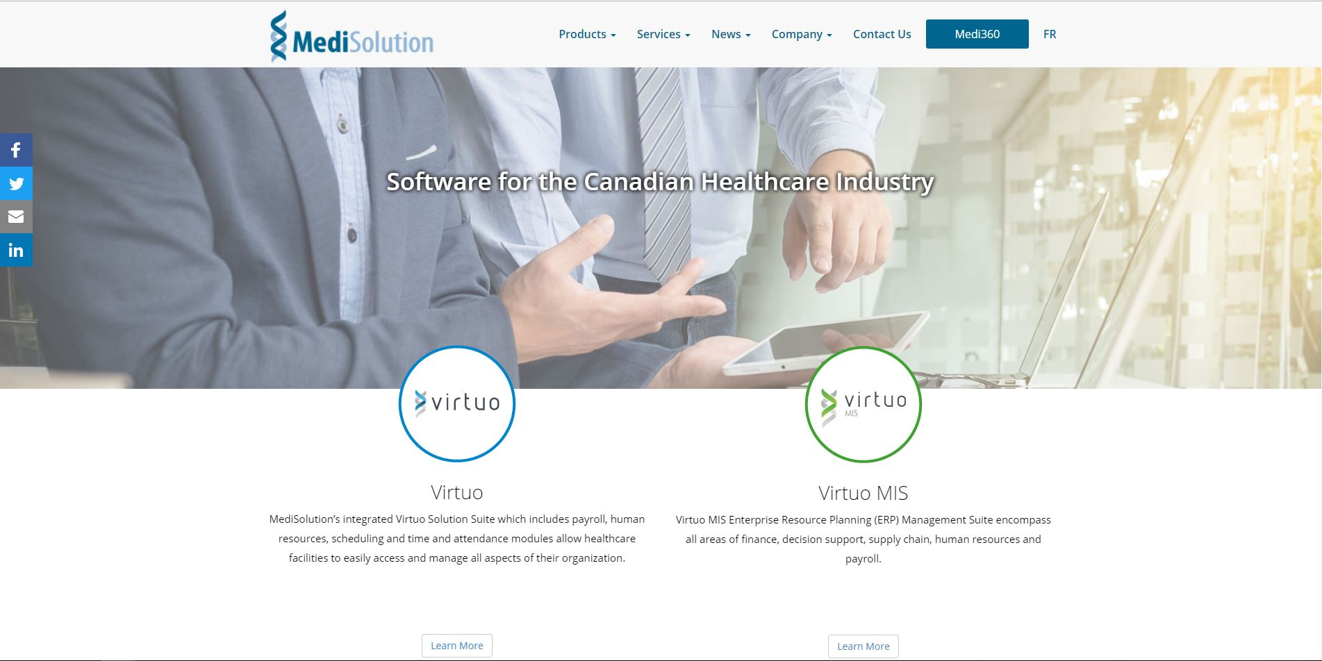 ^New website Medisolution